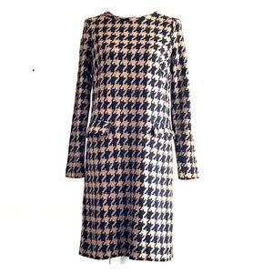 Boden long sleeve knit dress